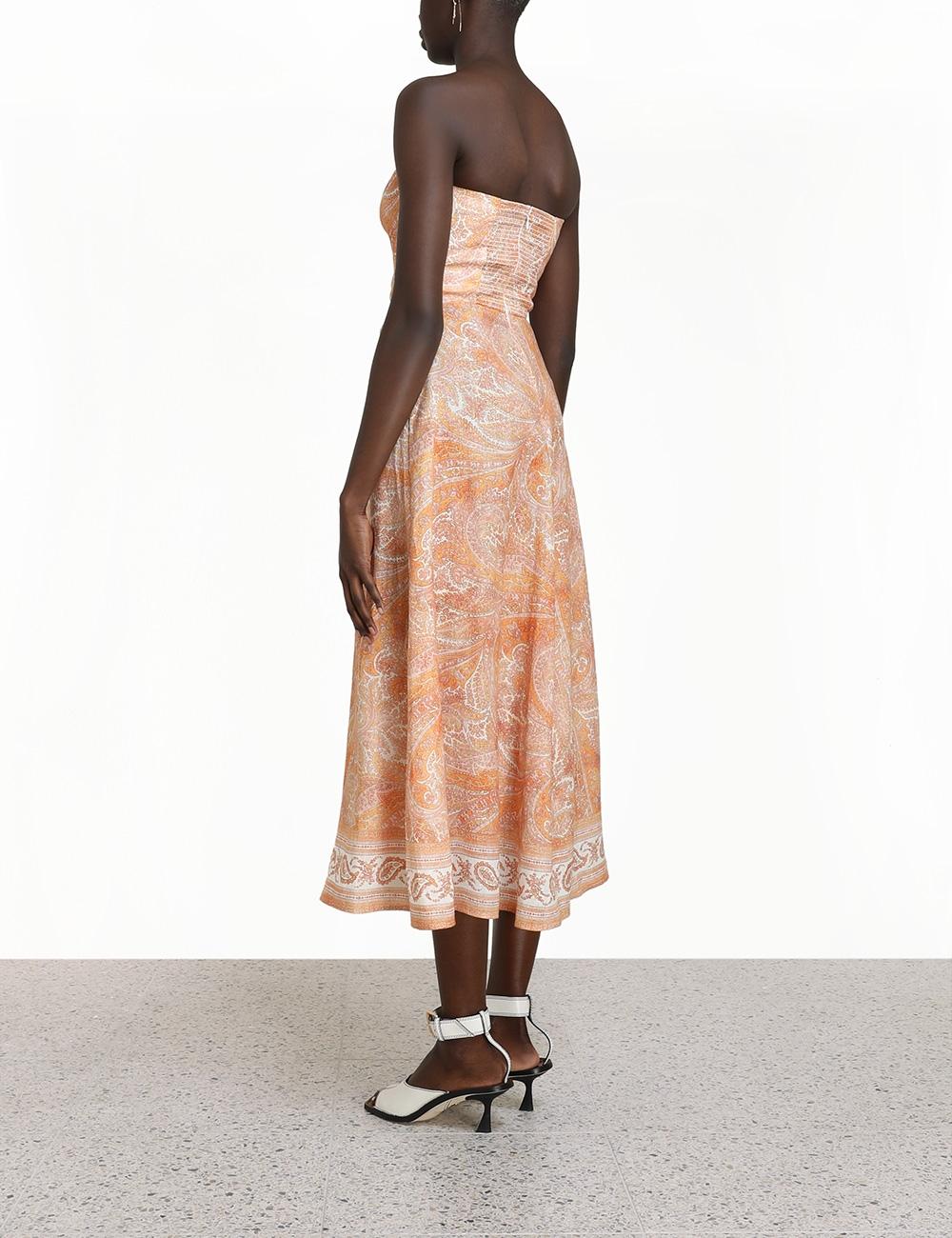 Brighton Tie Waist Midi Dress