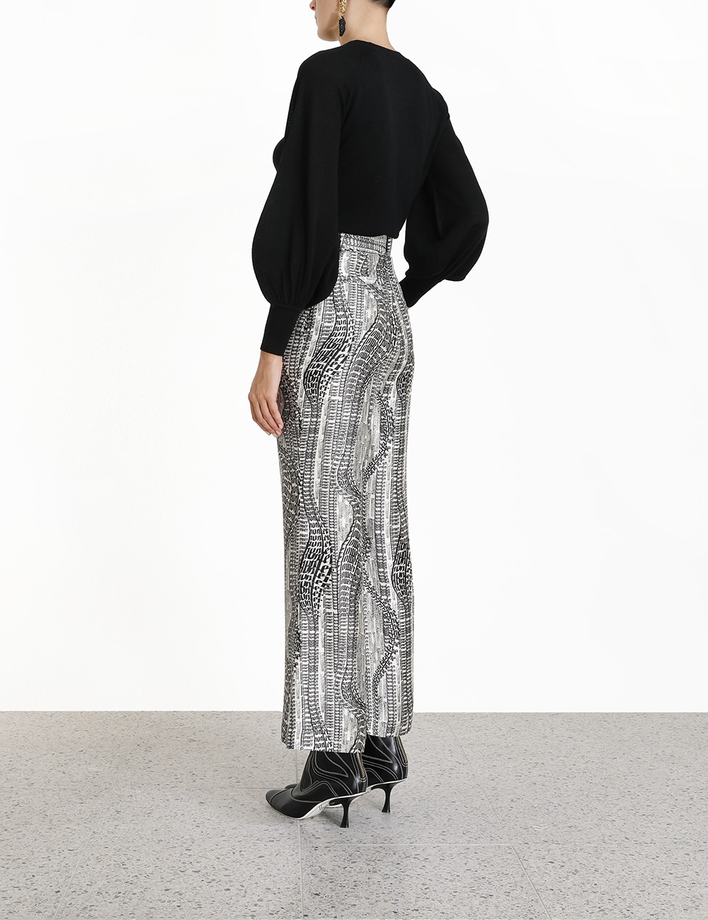 Botanica Flowing Text Trouser