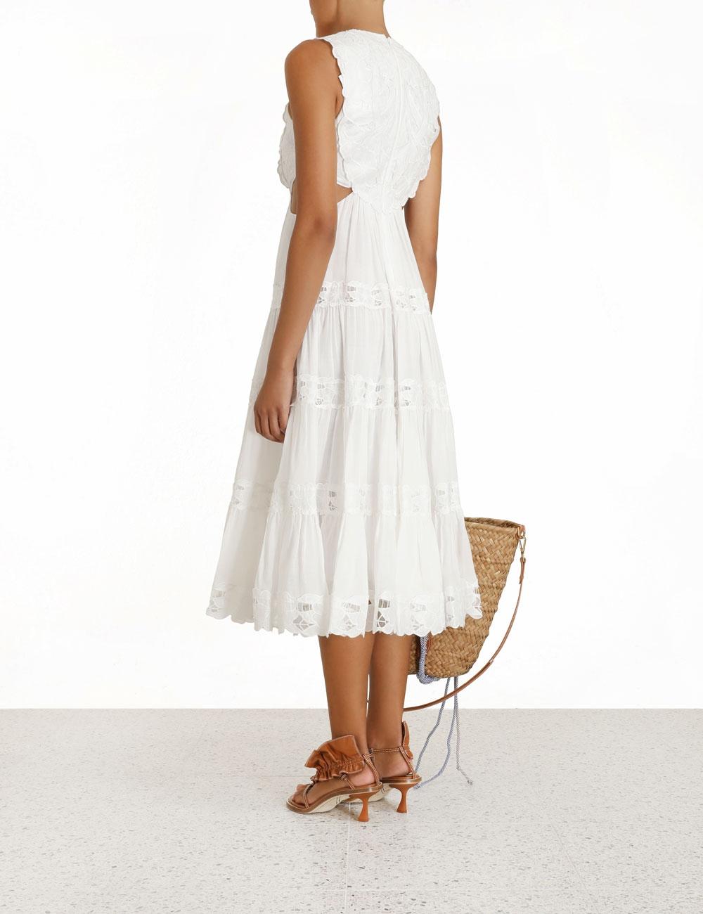 Cassia Yoke Dress