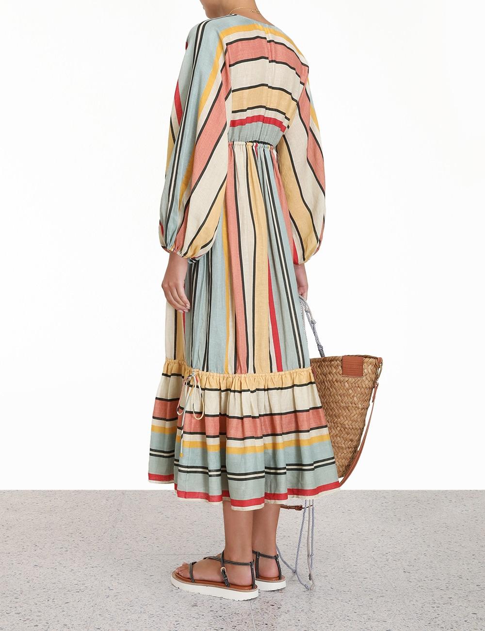 Cassia Draw Midi Dress