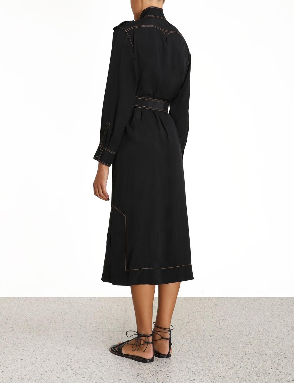 Utility Midi Dress