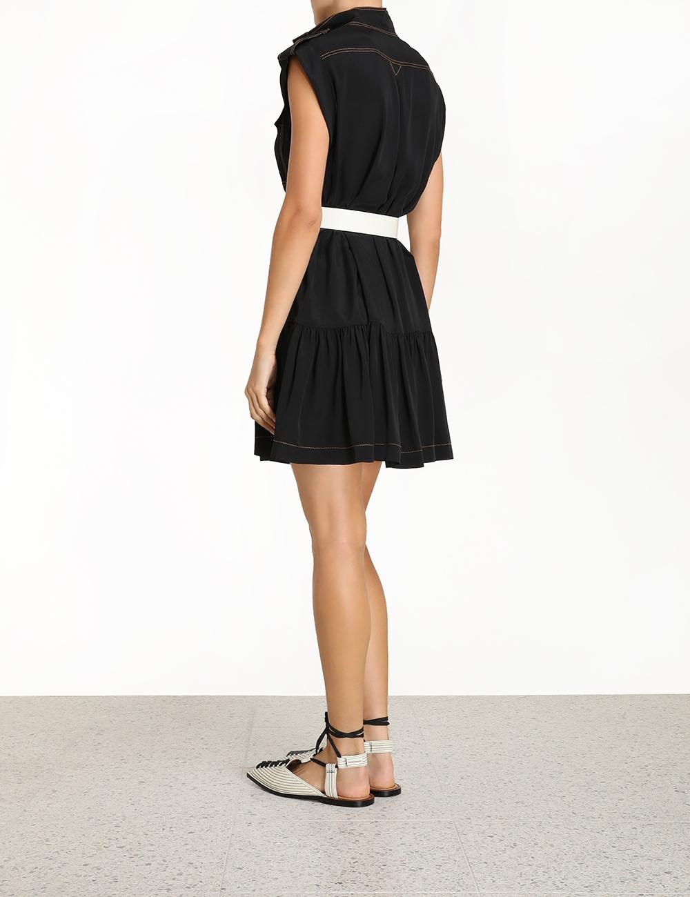 Utility Mini Dress