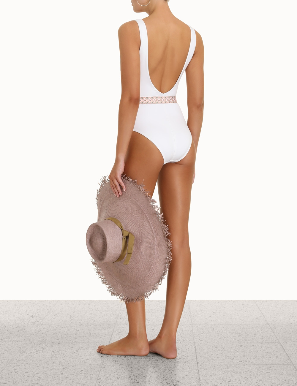 Teddy Belted Plunge 1PC