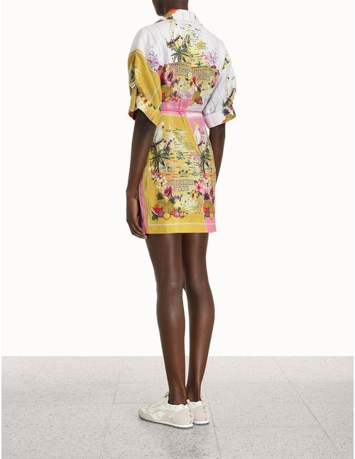 Nina Safari Mini Dress