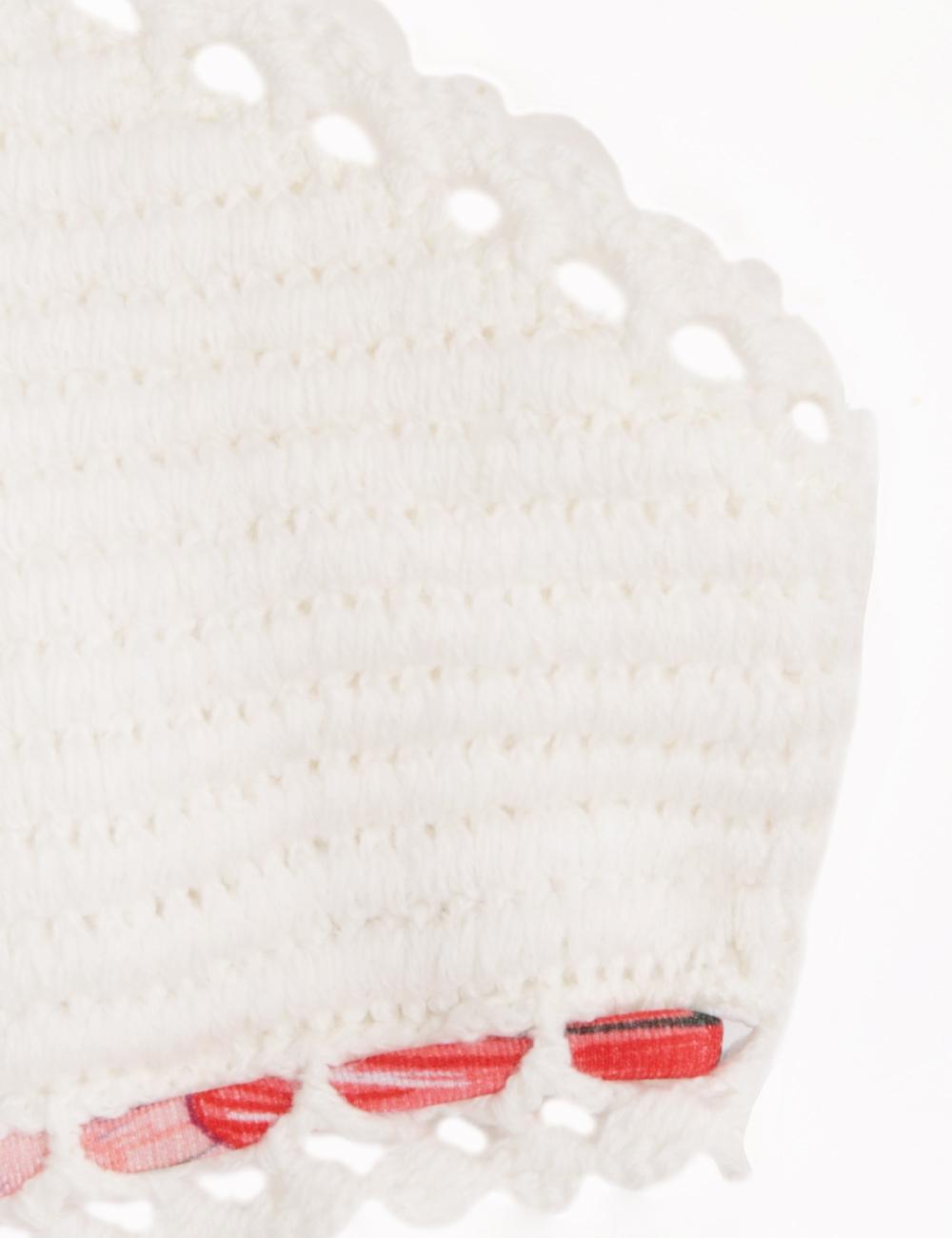 Poppy Crochet Halter Bikini