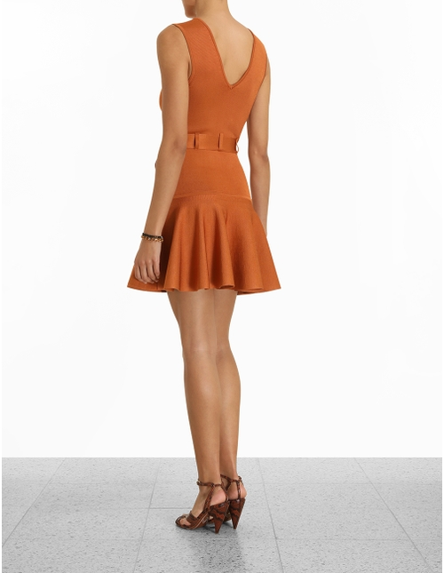Knit Mini Dress