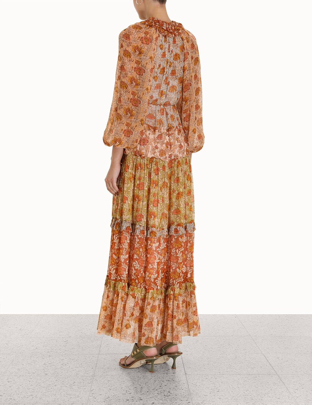 Andie Tiered Long Dress