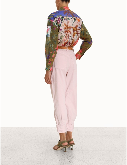 Tropicana Patched Shirt