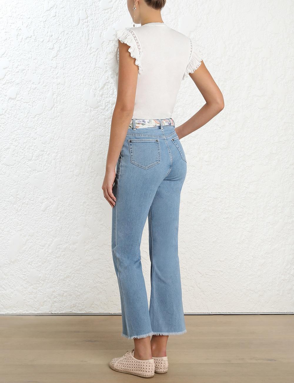 Bowie Denim Crop Jean