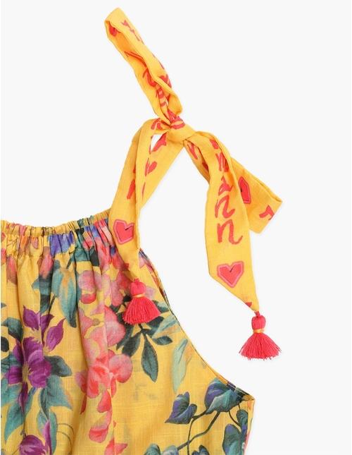 Tropicana Tie Playsuit