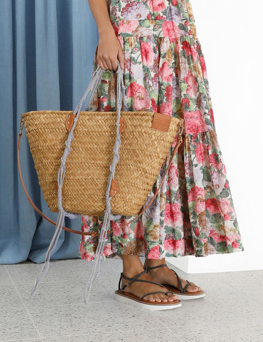 Macrame Woven Basket