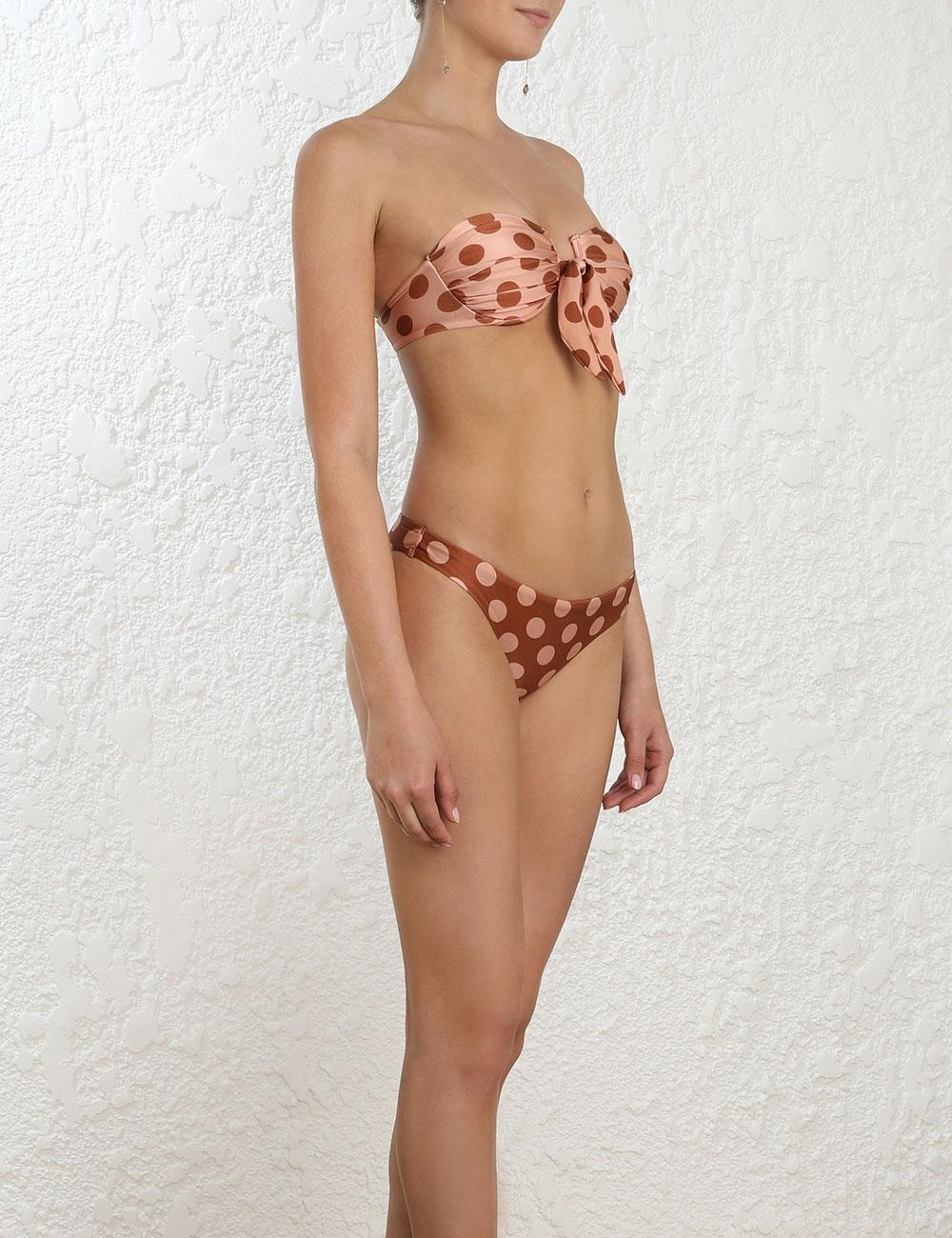 Primrose Tie Front Bikini