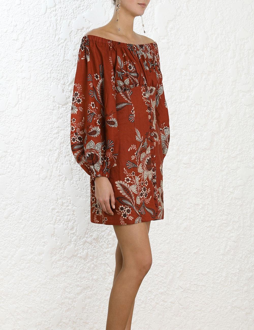 Juno Off Shoulder Dress