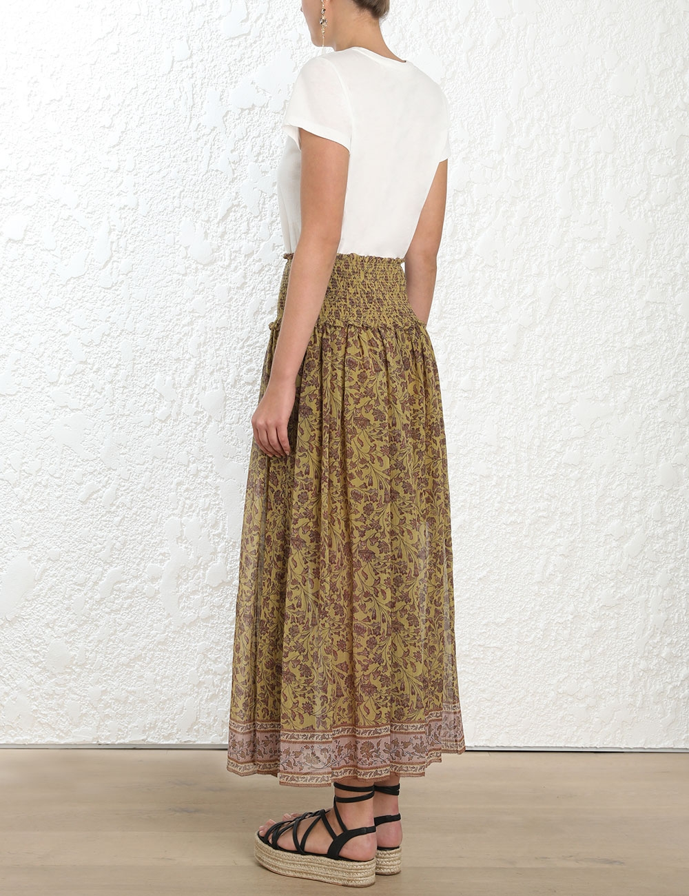Juniper Crinkle Skirt