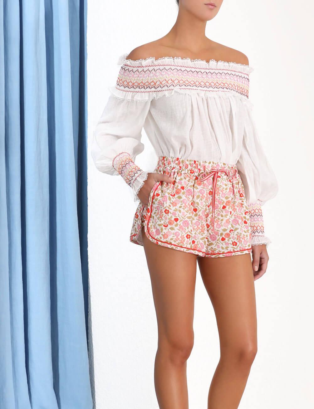Goldie Elastic Waist Short