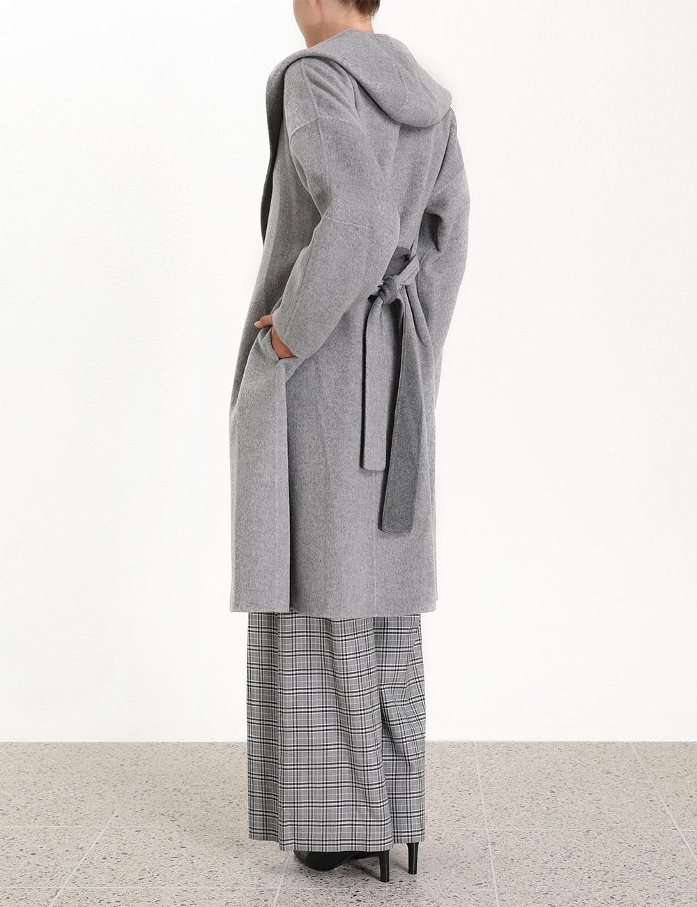 Zippy Wrap Coat