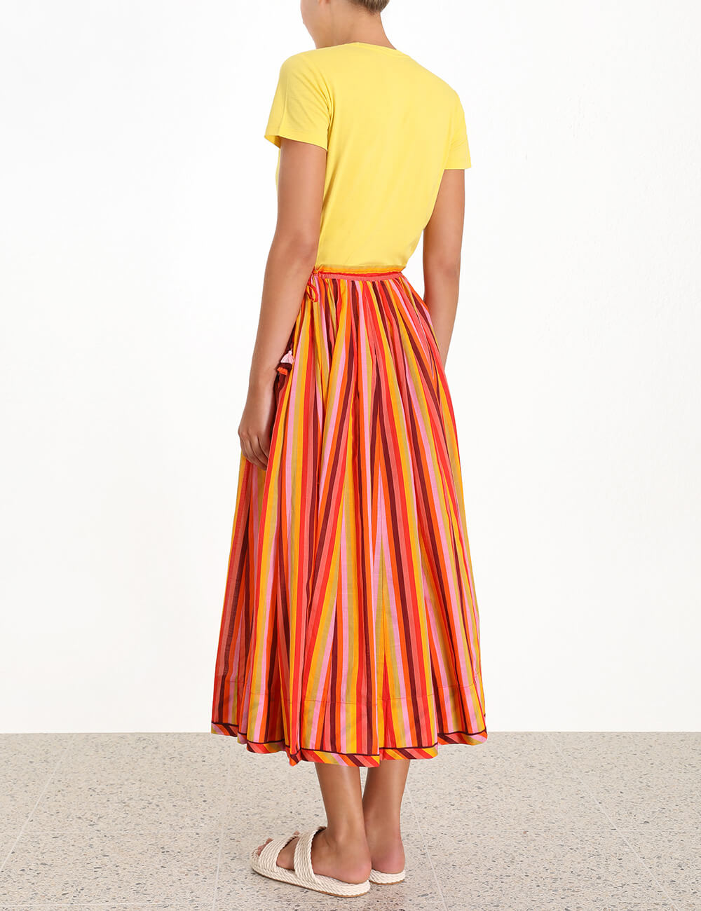 Goldie Draw Flare Skirt