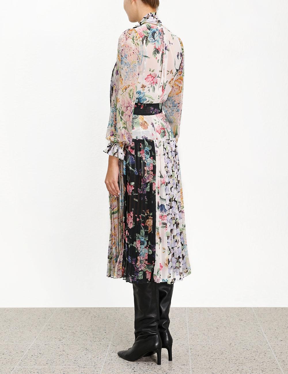 Ninety-Six Pleated Dress