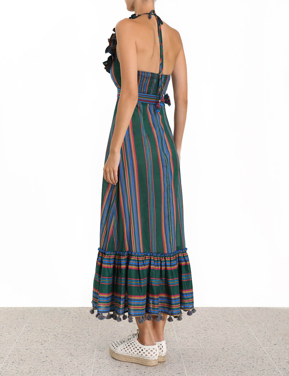 Allia Stripe Picnic Dress