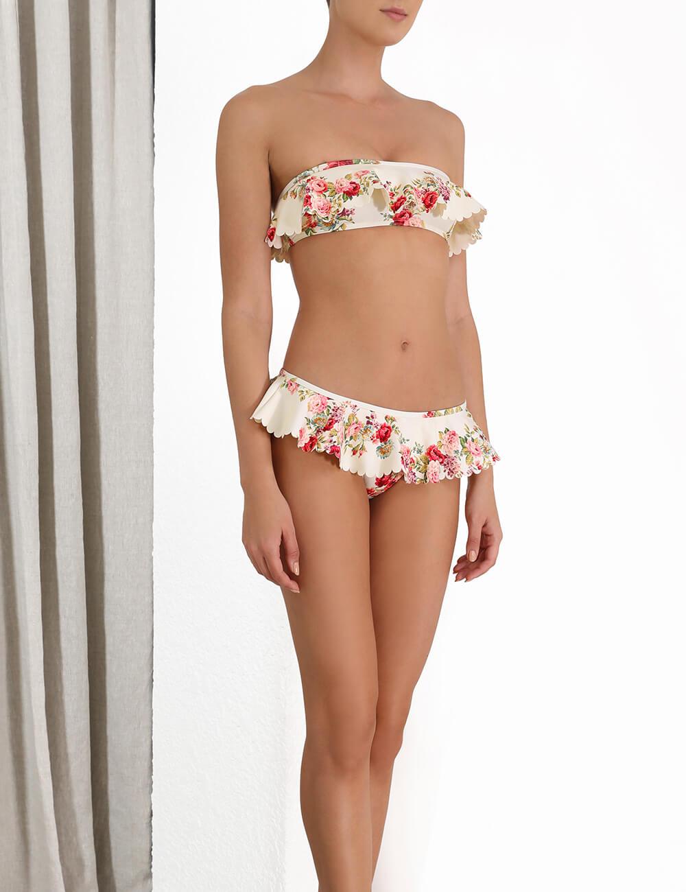 Honour Scallop Bikini Top