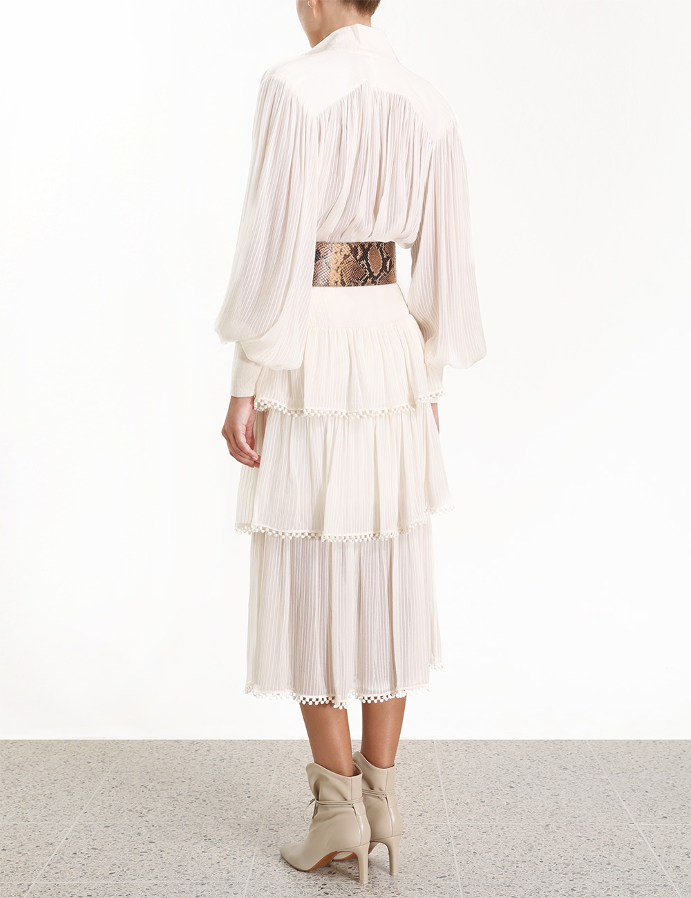Ninety-Six Fluted Skirt