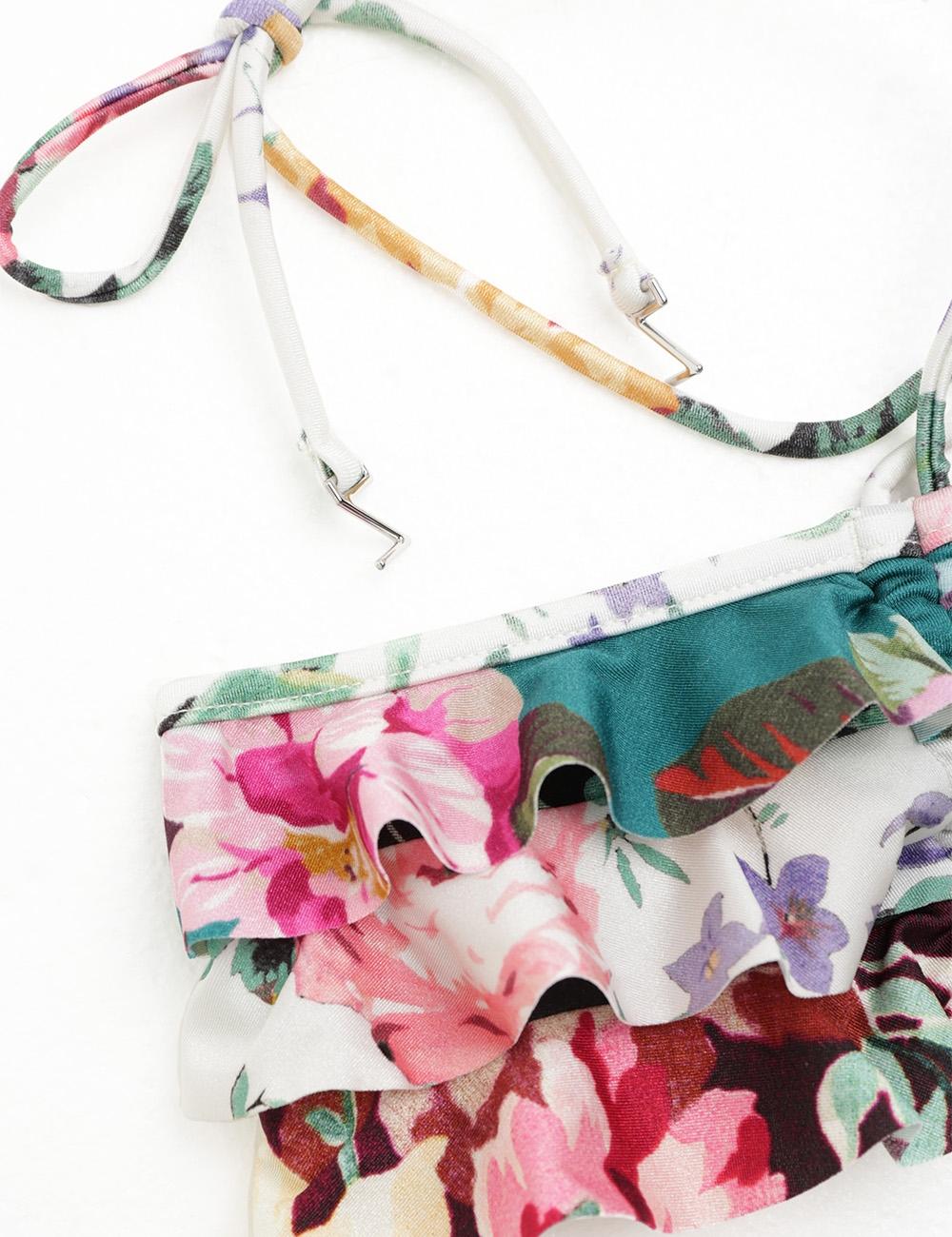 Allia Frill Bandeau Bikini