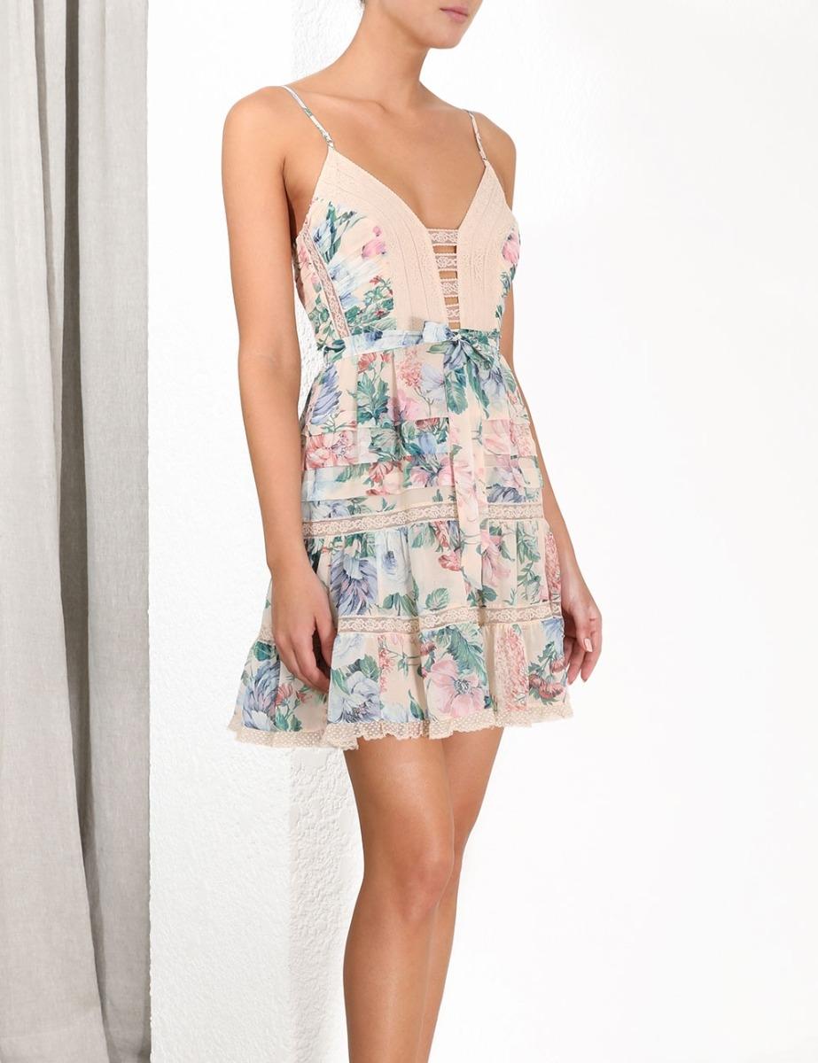 Verity Scallop Short Dress