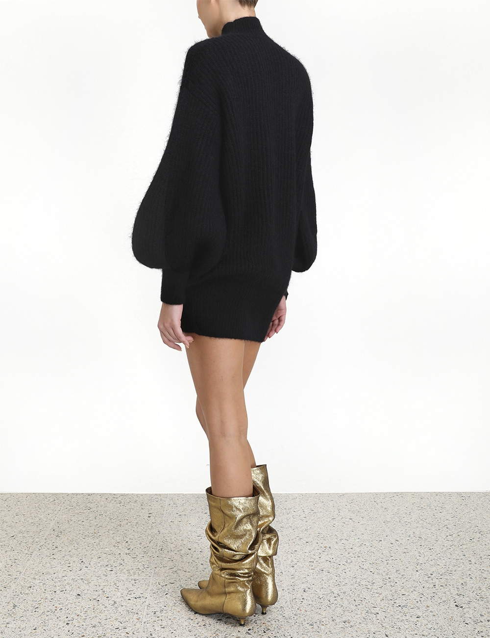Resistance Batwing Bow Dress