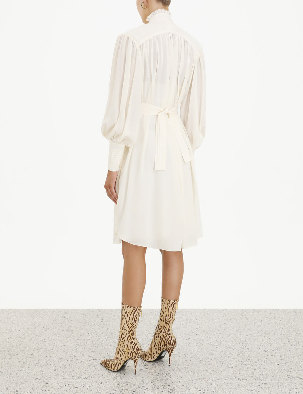 Espionage Smock Frill Dress