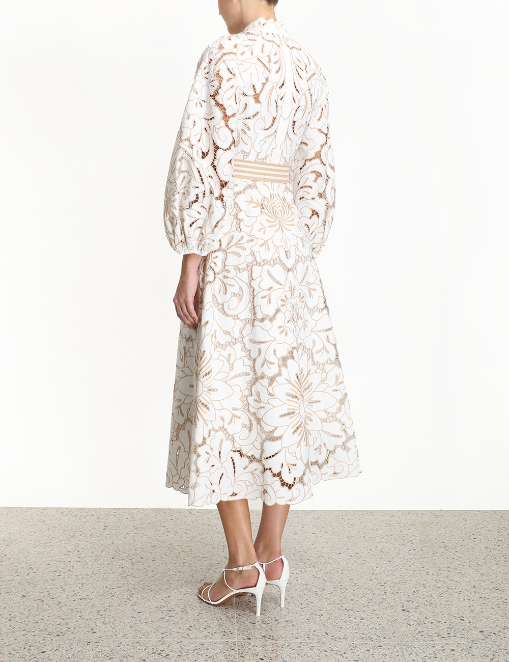 Edie Embroidery Long Dress