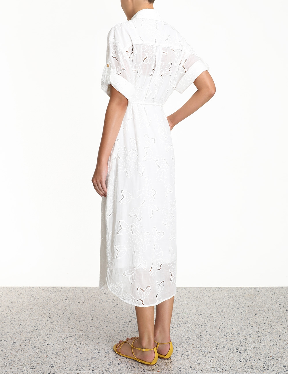 Kirra Embroidered Long Dress