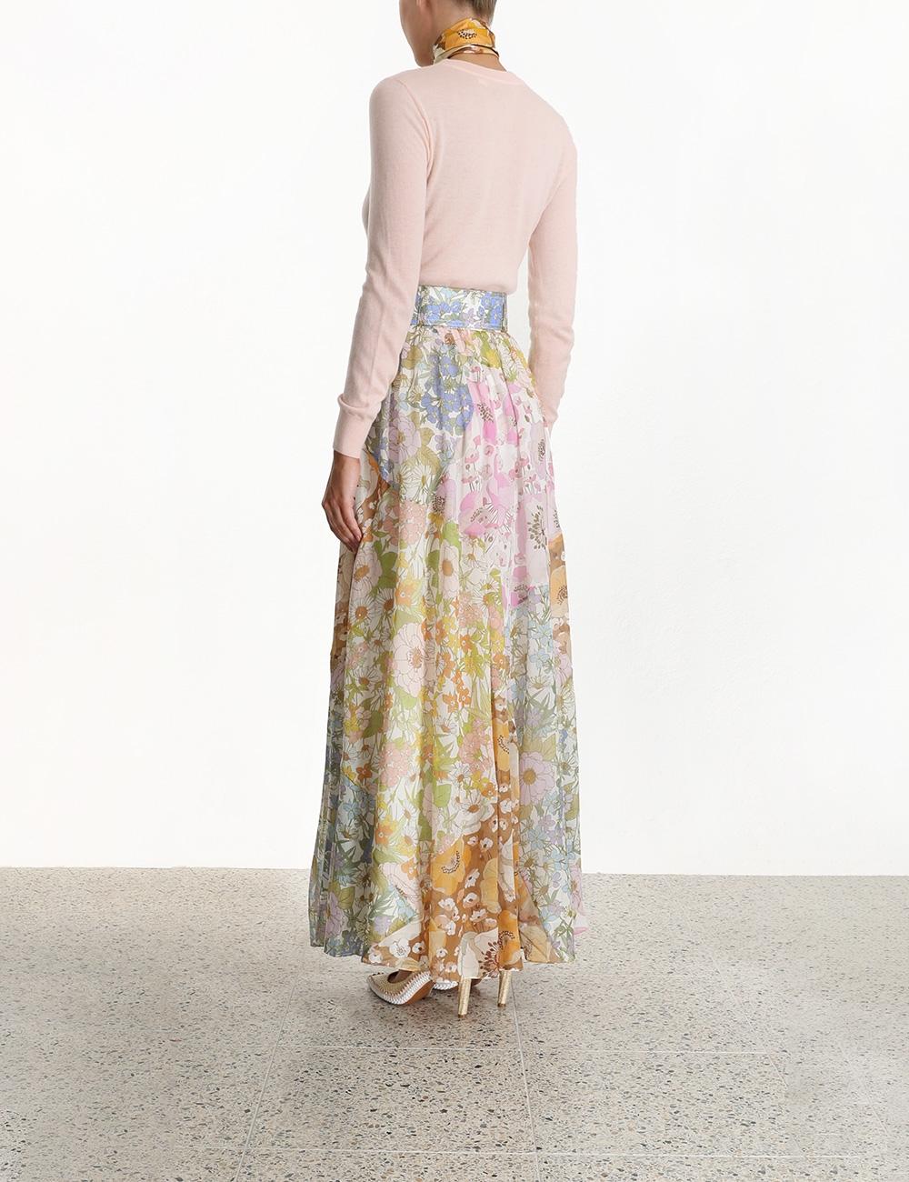 Super Eight Maxi Skirt