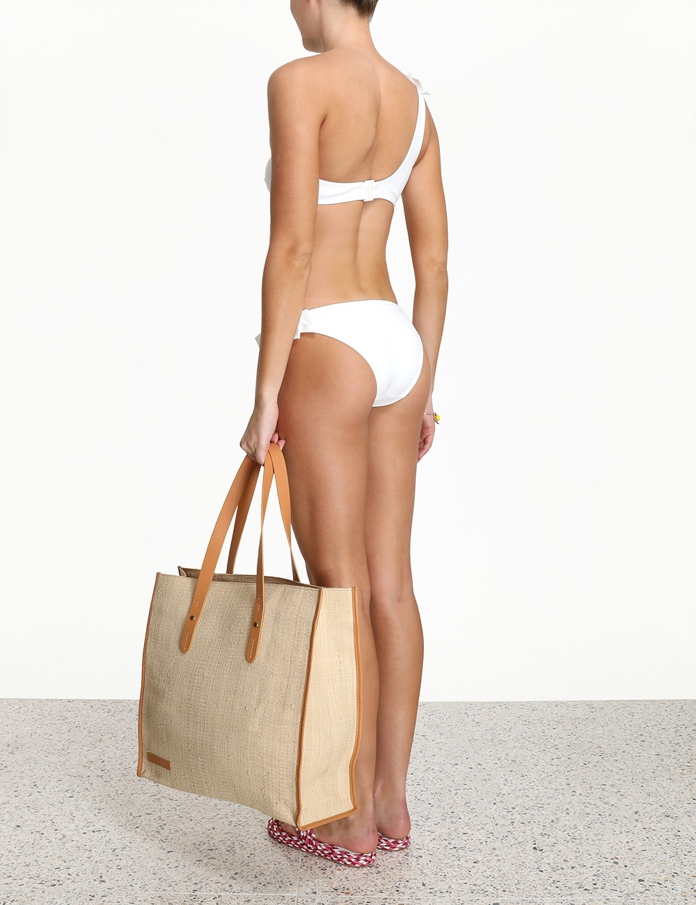 Peggy Bow 1 Shoulder Bikini