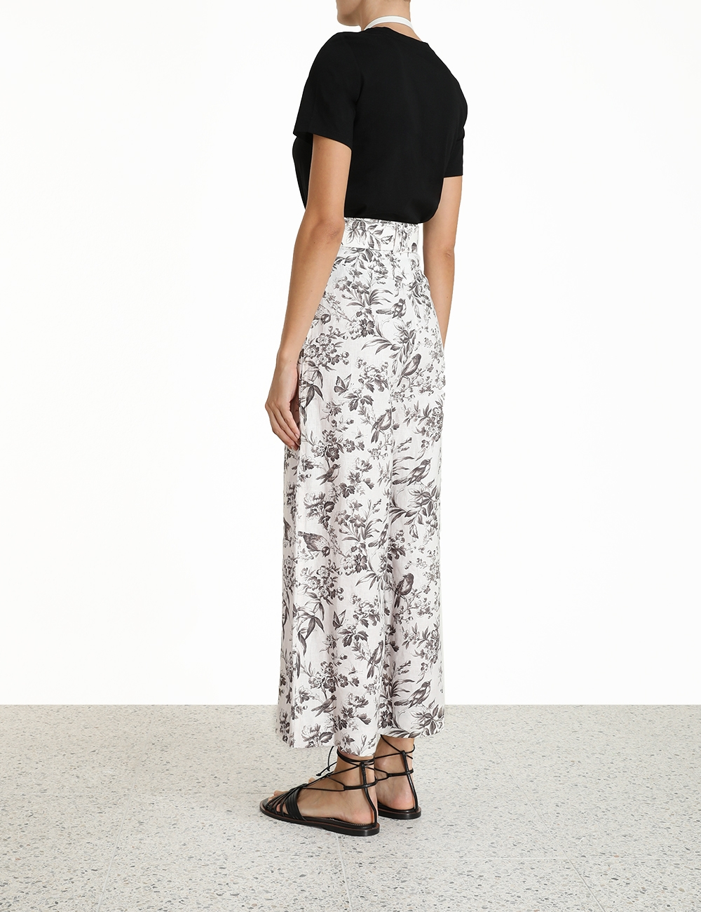 Linen Belted Pant