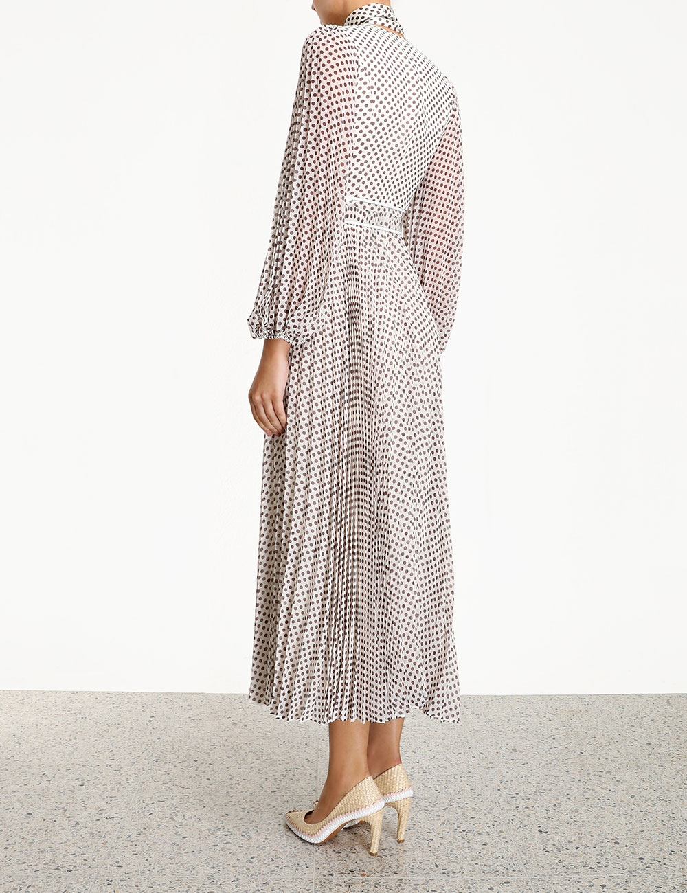 Sunray Long Sleeve Dress