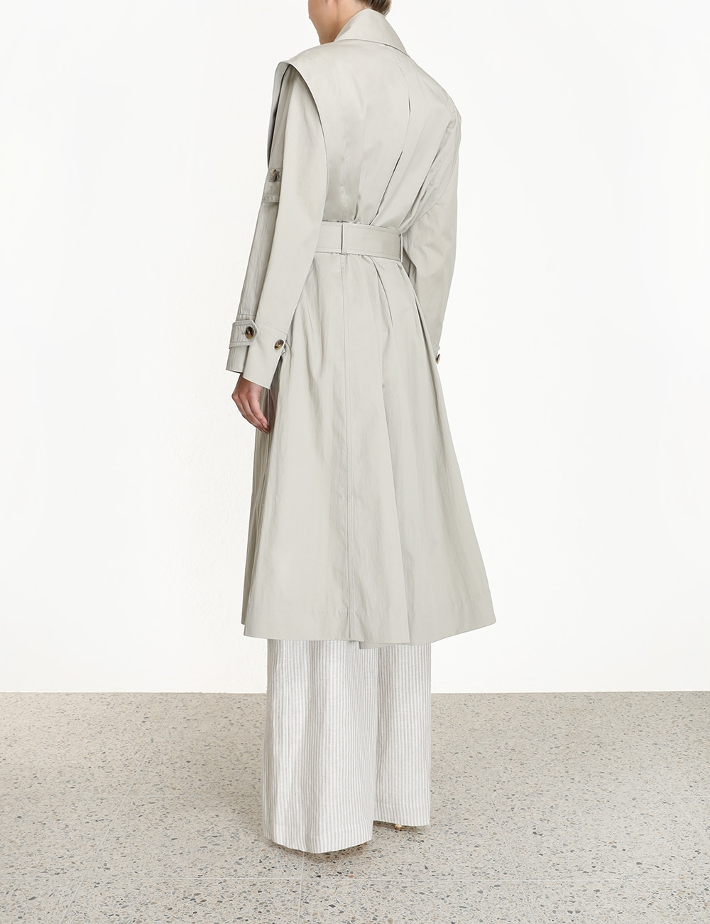 Super Eight Trench Coat