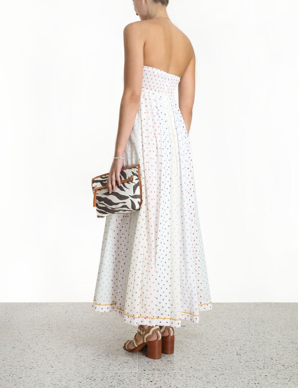 Bellitude Bandeau Midi Dress