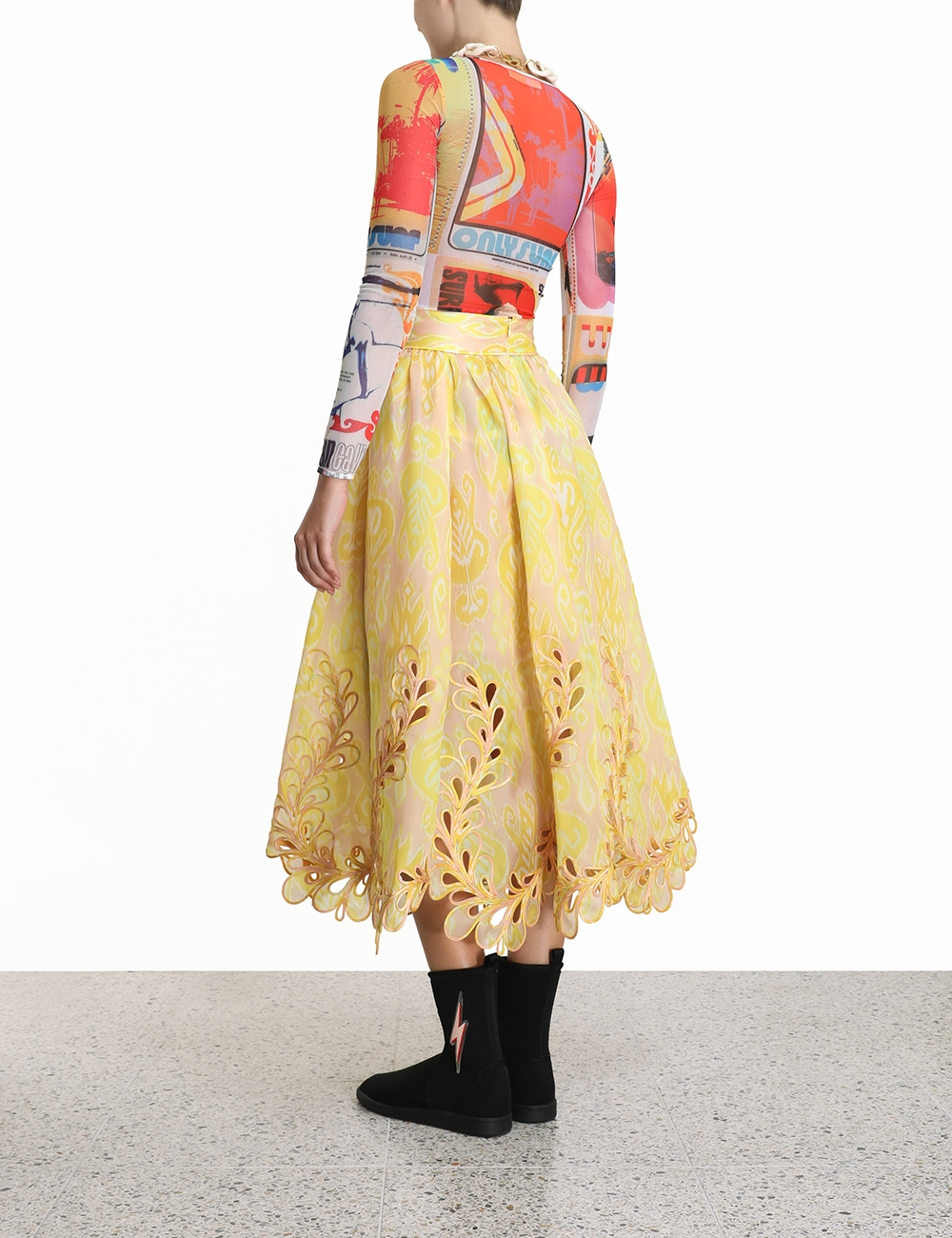 Brightside Rouleaux Skirt