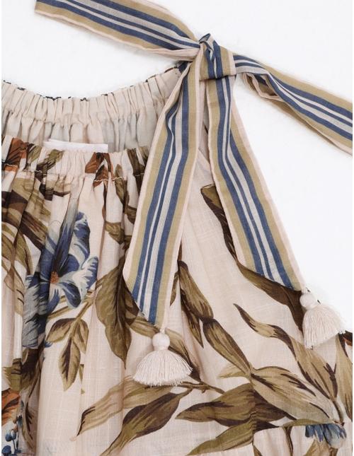 Aliane Tie Shoulder Dress