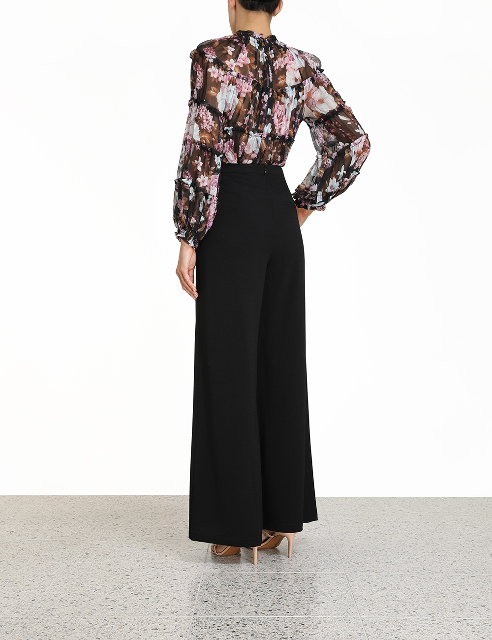 Charm Tiered Blouse