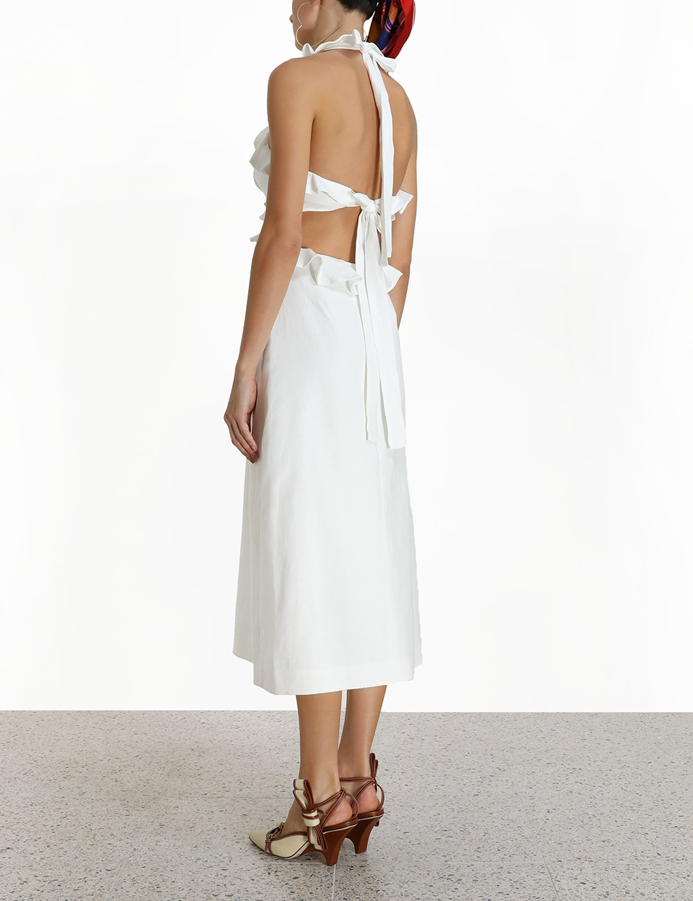 The Lovestruck Tie Back Midi