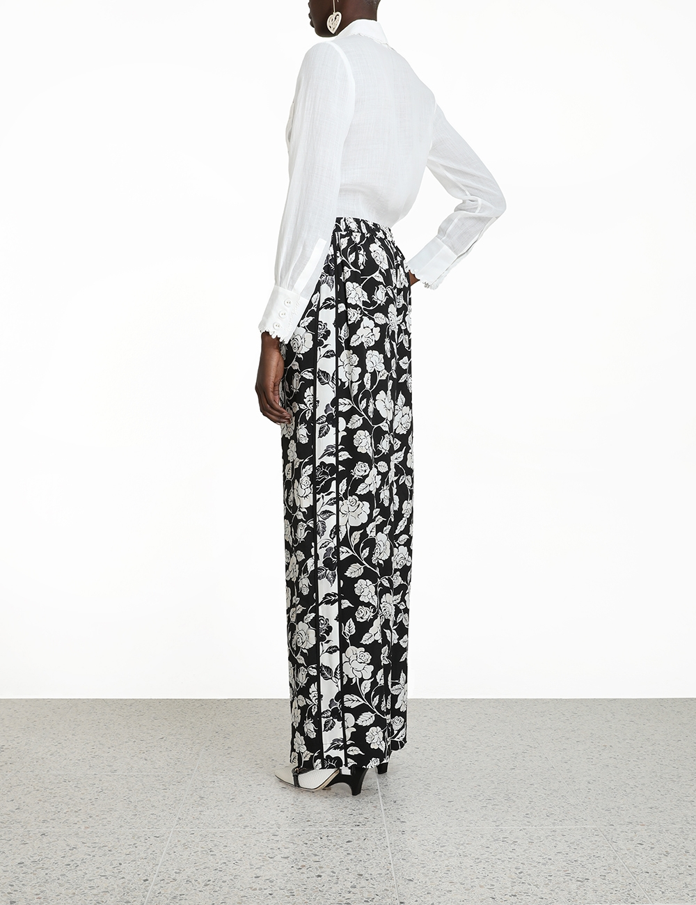 Silk Relaxed Pant