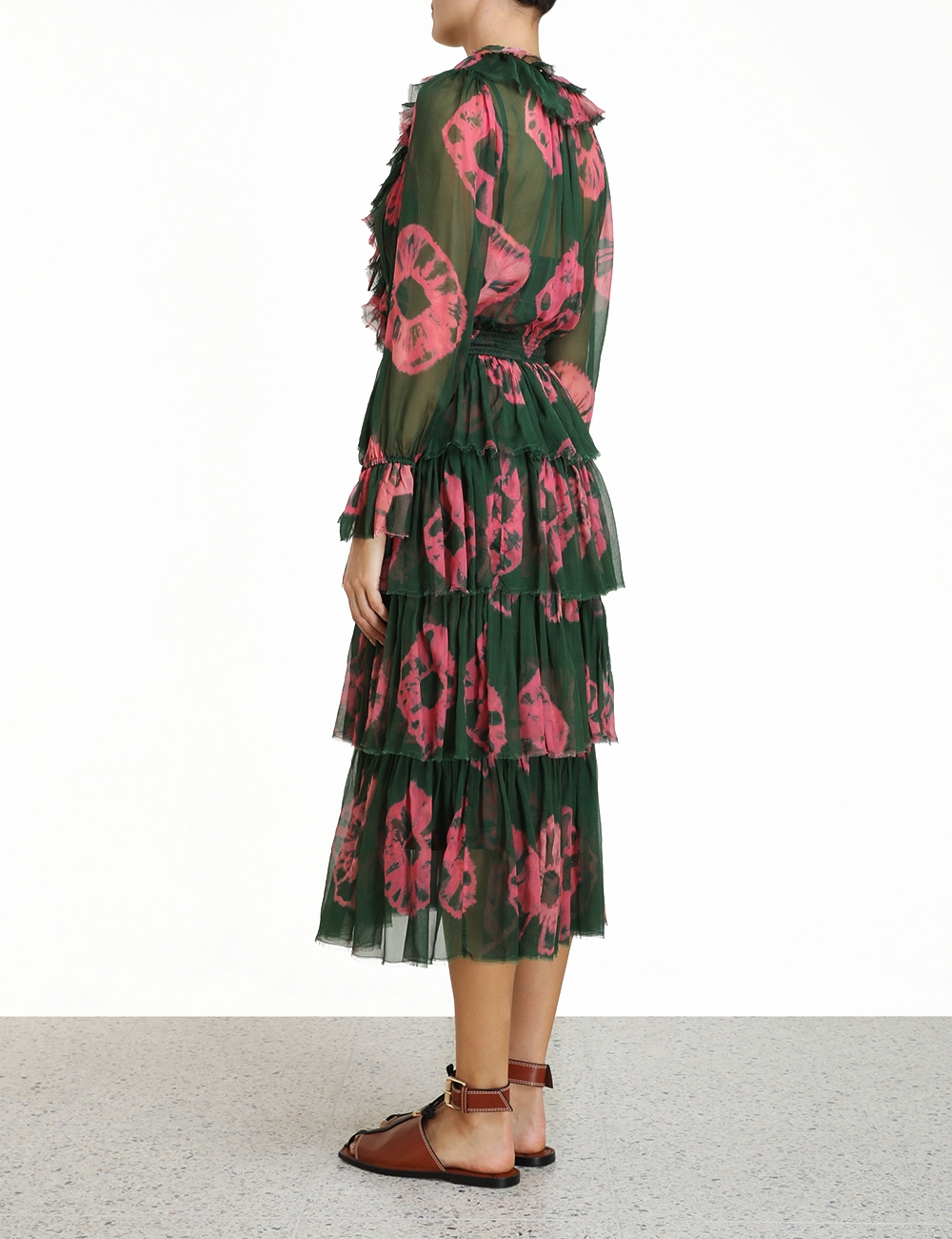 Poppy Tiered Frill Dress