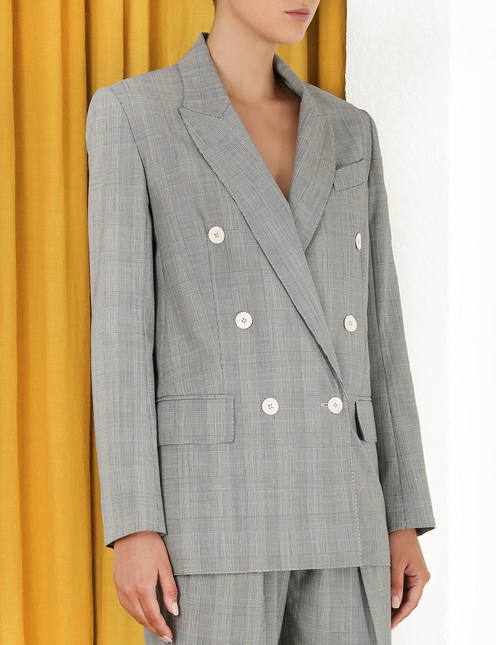 Luminous Check Jacket