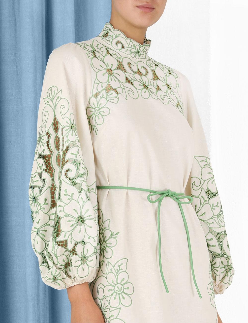 Teddy Floral Midi Dress