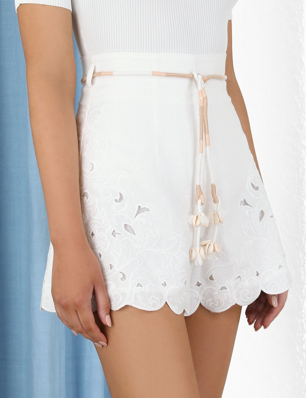 Nina Embroidered Short