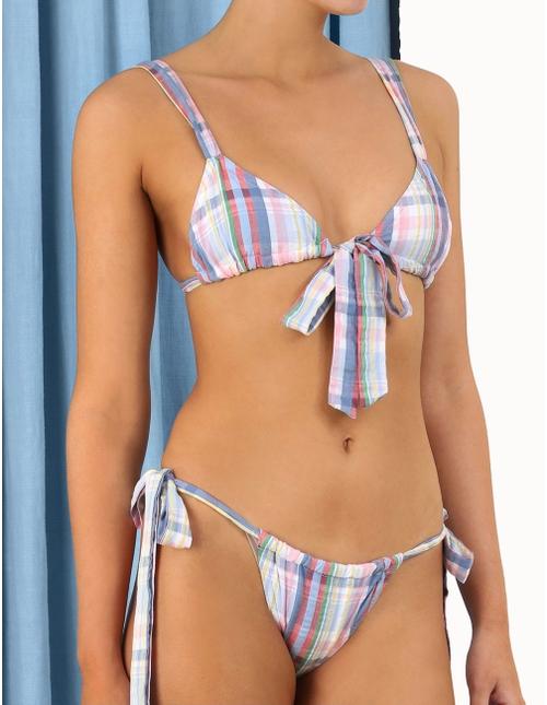 Teddy Cotton Tie Bikini