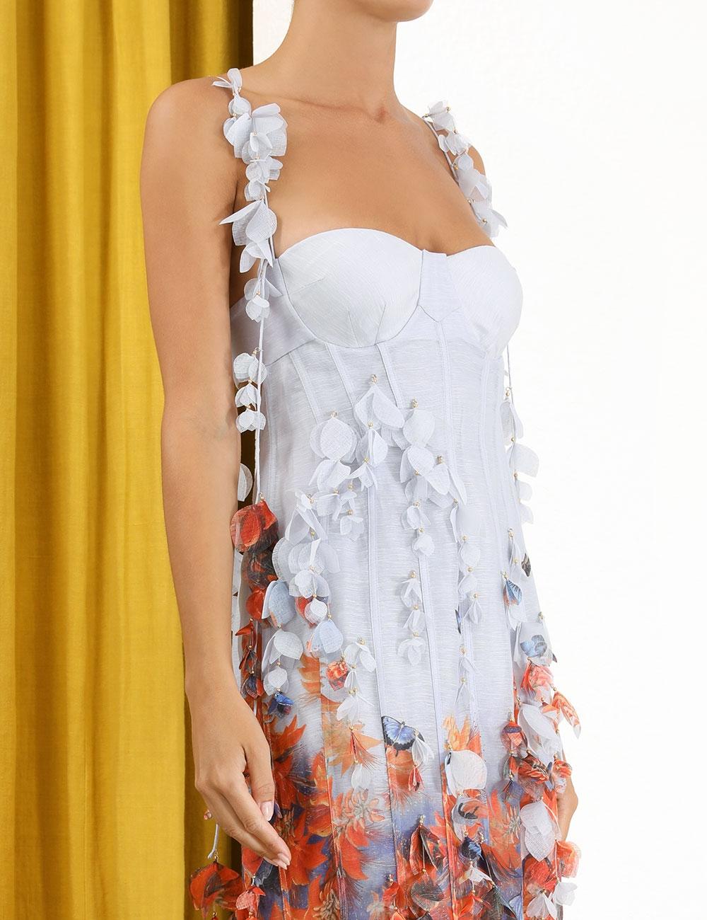 Botanica Printed Petal Gown