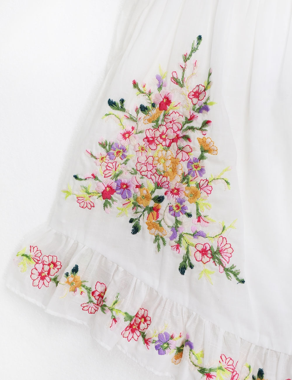 Mae Embroidered Dress