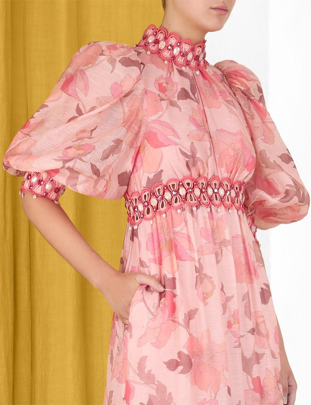 Concert Rouleau Trim Gown